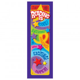 Reading is... Praise Words 'n Stars Bookmarks, 36 ct