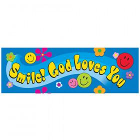 Smile! God Loves You Bookmarks