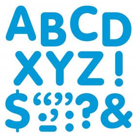 "Blue 2"" STICK-EZE Stick-On Letters"