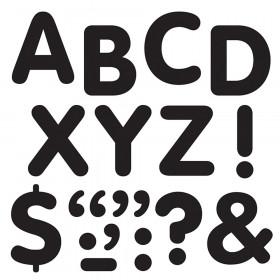"Black 2"" STICK-EZE Stick-On Letters"