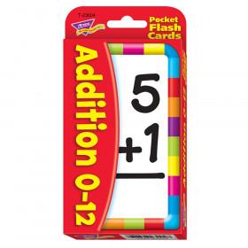 Addition 0-12 Pocket Flash Cards