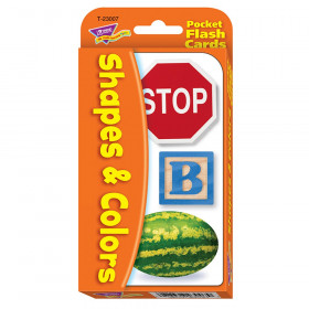 Shapes & Colors Pocket Flash Cards