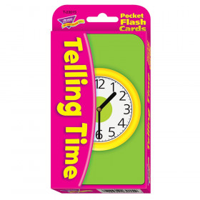 Telling Time Pocket Flash Cards
