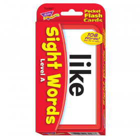 Sight Words - Level A Pocket Flash Cards