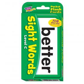Sight Words - Level C Pocket Flash Cards