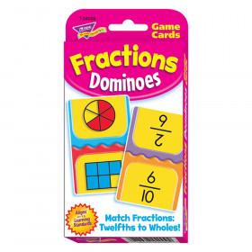 Fractions Dominoes Challenge Cards®