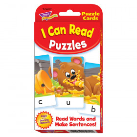 I Can Read Puzzles Challenge Cards