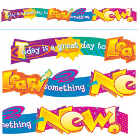 Today is a great day to learn… Quotable Expressions® Banner – 10 Feet