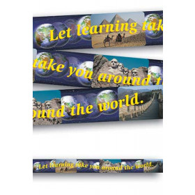 Banner Let Learning Take You 10Ft Horizontal