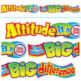 Attitude is a little thing… Quotable Expressions® Banner – 10 Feet