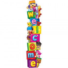 Welcome BlockStars!® Quotable Expressions® Banner – 5 Feet