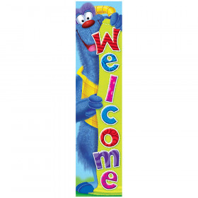 Welcome Furry Friends® Quotable Expressions® Banner – 5 Feet