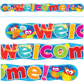 Welcome Owl-Stars!® Quotable Expressions® Banner – 10 Feet