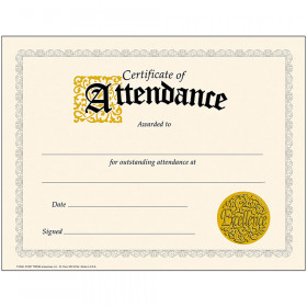 Certificate of Attendance Classic Certificates