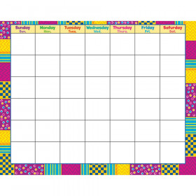 Snazzy Wipe Off Calendar