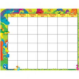 Dino-Mite Pals™ Wipe-Off® Calendar – Monthly