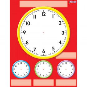 Clocks Wipe-Off® Chart