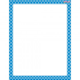 Moroccan Blue Wipe-Off® Chart