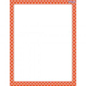 Moroccan Orange Wipe-Off® Chart