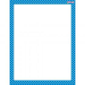 Polka Dots Blue Wipe-Off® Chart