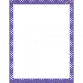 Polka Dots Purple Wipe-Off® Chart