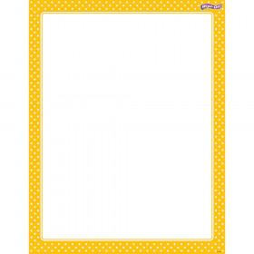 Polka Dots Yellow Wipe-Off® Chart