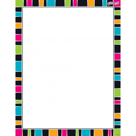 Stripe-tacular Groovy Wipe-Off® Chart