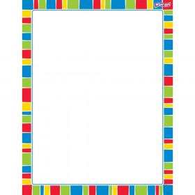 Stripe-tacular Cheerful Wipe-Off® Chart