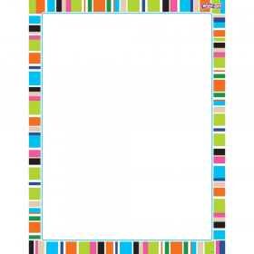 Stripe-tacular Party Time Wipe-Off® Chart