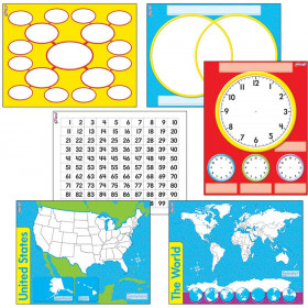 Charts & Maps Wipe-Off® Combo Pack