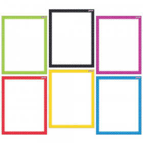 Polka Dots Wipe-Off® Charts Combo Pack