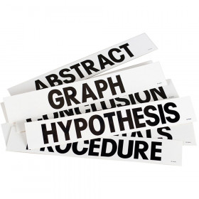 Science Title Cards Presentation Board