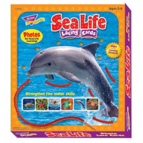Lacing Cards Sea Life