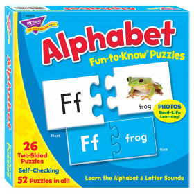 Alphabet Fun-to-Know® Puzzles
