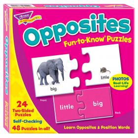 Opposites Fun-to-Know Puzzles