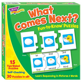 What Comes Next? Fun-to-Know Puzzles