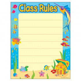 "Class Rules Learning Chart, 17"" x 22"""