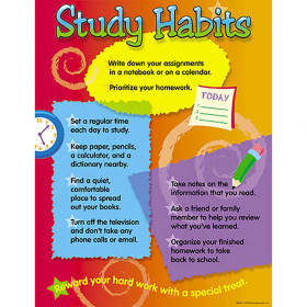 Study Habits Learning Chart