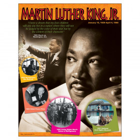"""Martin Luther King Jr. Learning Chart, 17"""" x 22"""""""