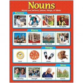 Nouns Learning Chart