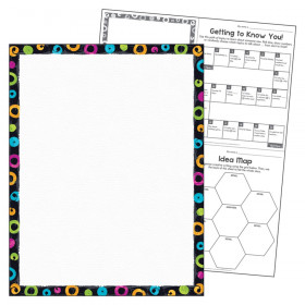 """Blank Color Harmony Learning Chart, 17"""" x 22"""""""