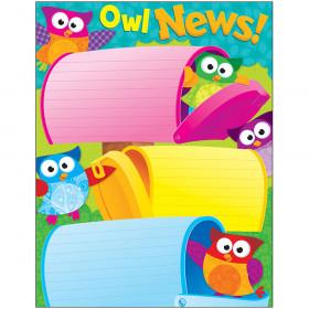 Owl News Owl-Stars!® Learning Chart