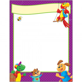 Blank Playtime Pals Learning Chart Learning