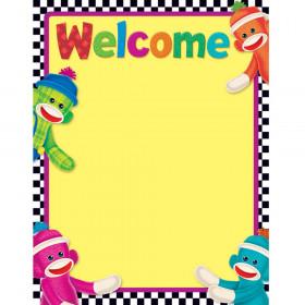 Welcome Sock Monkeys Learning Chart