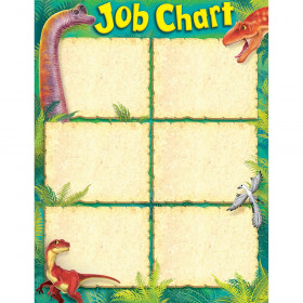 Job Chart Discovering Dinosaurs™ Learning Chart