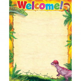 Welcome Discovering Dinosaurs™ Learning Chart