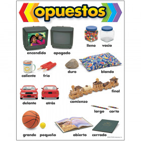 opuestos (SP) Learning Chart