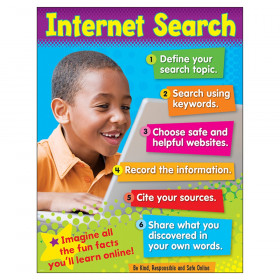 "Internet Search (Primary) Learning Chart, 17"" x 22"""