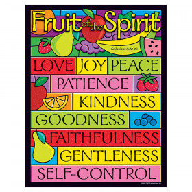 "Fruit of the Spirit Learning Chart, 17"" x 22"""