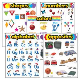 Kindergarten Basic Skills Learning Charts Combo Pack